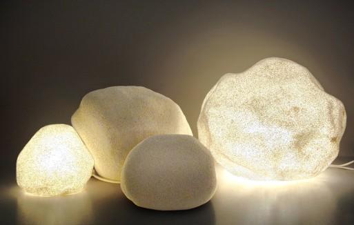 Moon Rock Lamps