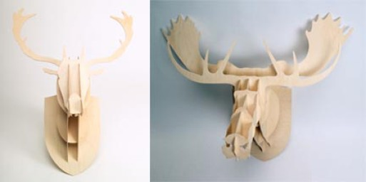 Moose & Deer Head