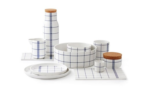 Blue Mormor Dinnerware by Normann Copenhagen
