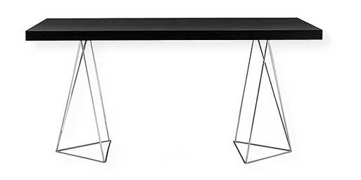 Multi Table With Trestle Legs