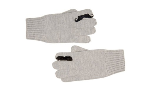 Merino Moustache Gloves