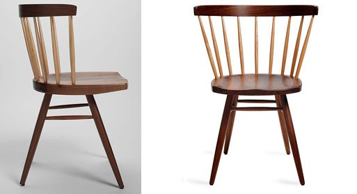 Nakashima Straight-Backed Chair