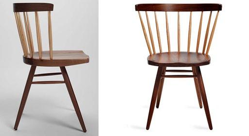 Nakashima Straight-Backed Chair