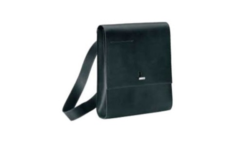 Nava Soft Long Leather Messenger Bag