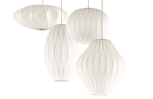 Criss Cross Bubble Lamps