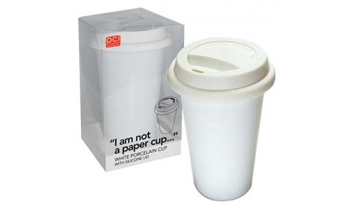 """I Am Not A Paper Cup"" Ceramic Cup"