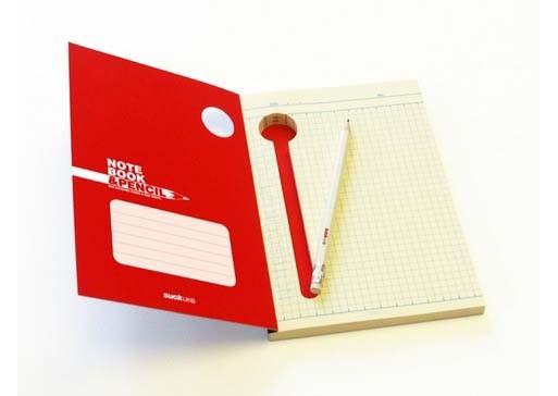 """&pencil"" notebook"
