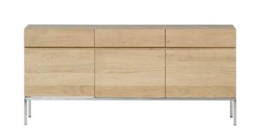 Oak Ligna Sideboard 3 Doors