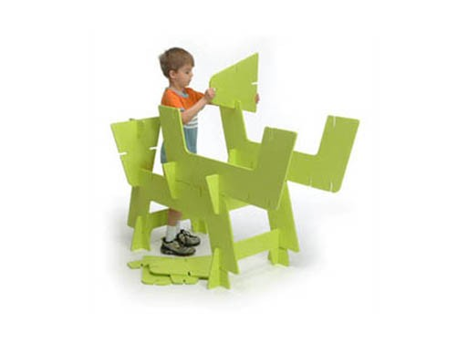 Offi spaceframe builders sculpture set