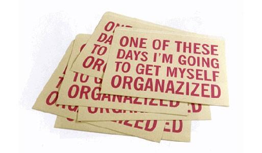 Organized File Folders