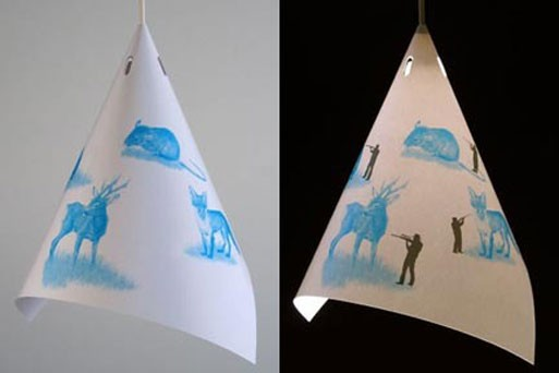 on/off lampshades