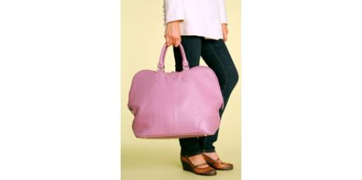 large weekender bag.
