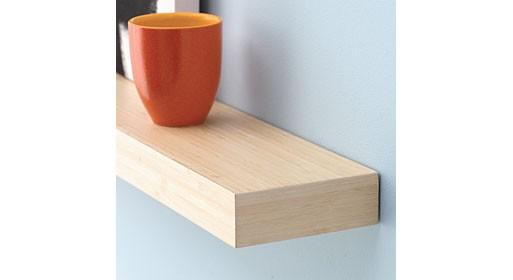 Sale On Bamboo Floating Shelves Furnishings Better