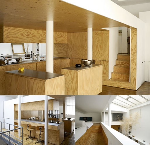 Paris Loft (plywood)