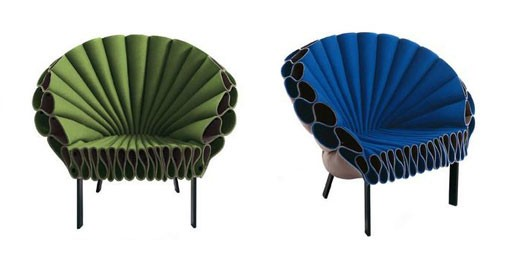 Peacock Armchair by Cappellini