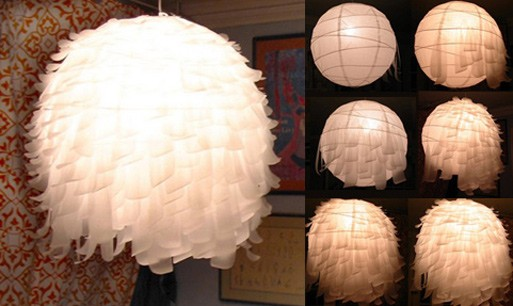 Pendant Lamp Makeover For Under $12