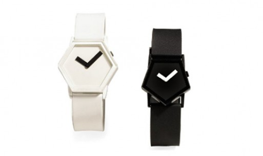 Pentagon and Hexagon Watches