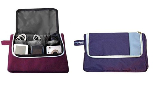Personal Media Travel Pouch