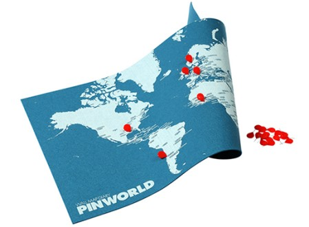 PinWorld Map