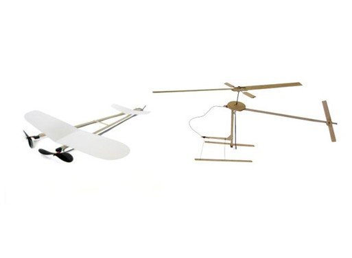 Penni Helicopter & Hishoue Airplane Kits