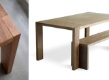Plank Dining Table &#038; Bench