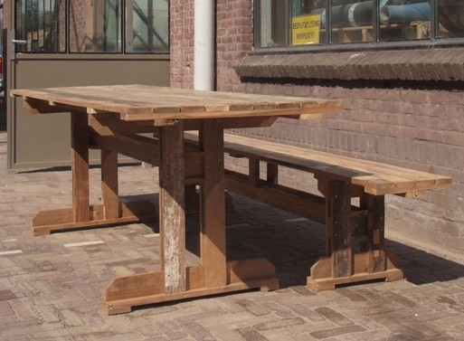 Planktable by Piet Hein Eek