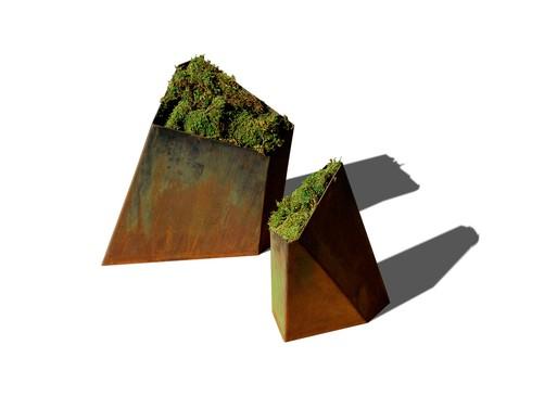 Sale: Planterworx Sculptural Metal Planters