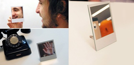 polaroid mirror