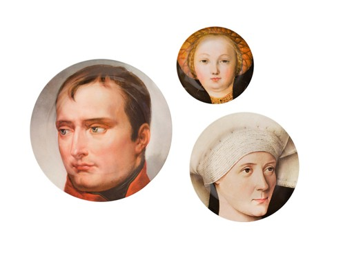 National Gallery Portrait Plates