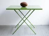 Powder-Coated Steel Folding Table