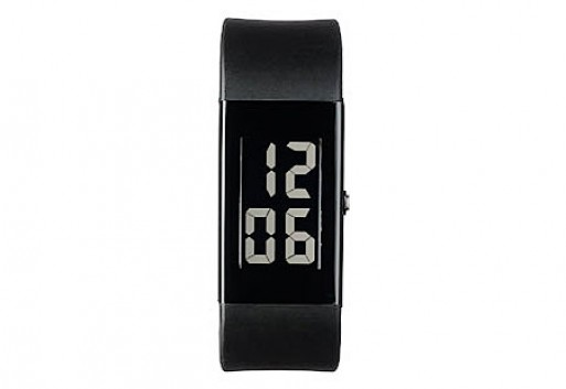 Digital watch light numbers