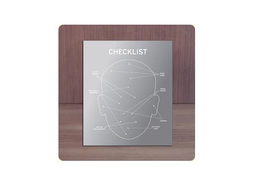 Checklist Mirror