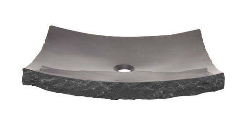 Large Black Zen Granite Sink