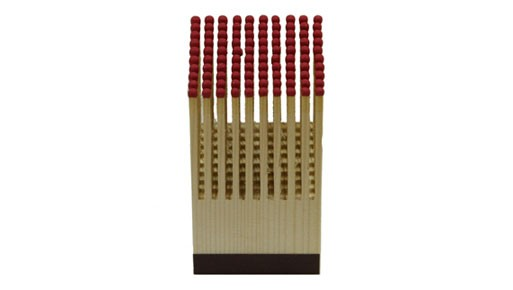 Pyreness Wood Block, 100 Matches