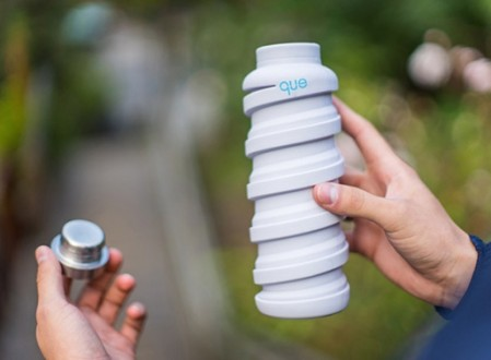 que Collapsible Travel Bottle