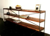 Railcar Bookcase