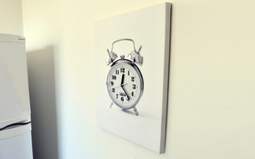 Real Time Canvas Clock