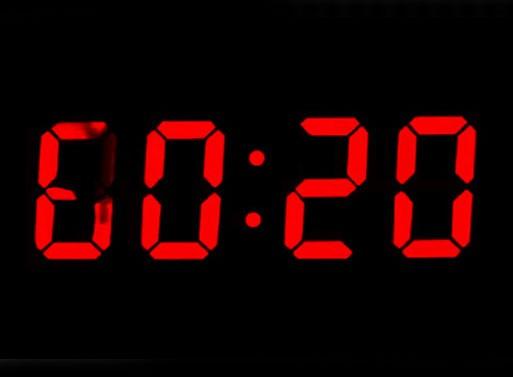 Real Time analog digital clock