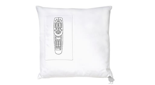 Remote Control Pocket Pillow by K Studio