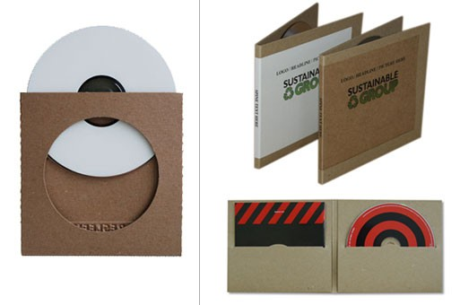 Resleeve & Replay: Recycled CD Cases
