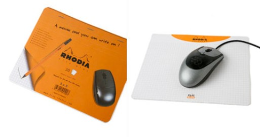 Rhodia Mouse Pad Paper Pad