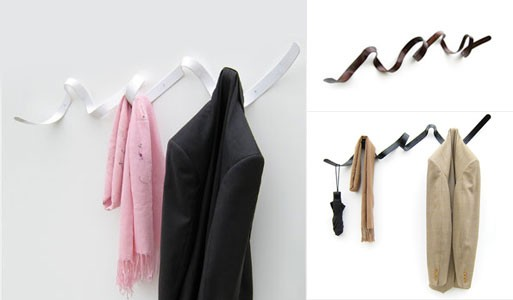 Ribbon Coat Rack