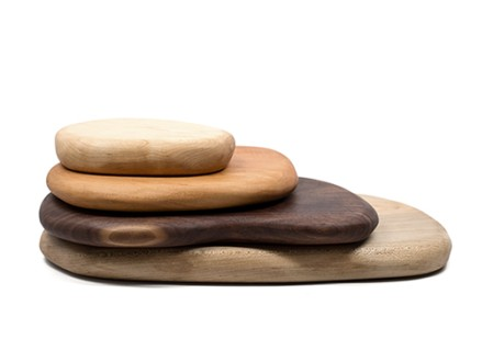 River Rock Cutting Boards