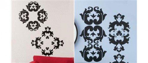 rococo wall decals