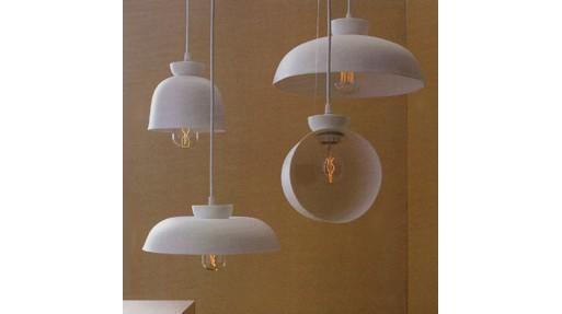 Porcelain Bell Hanging Lamps