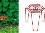Roses stool