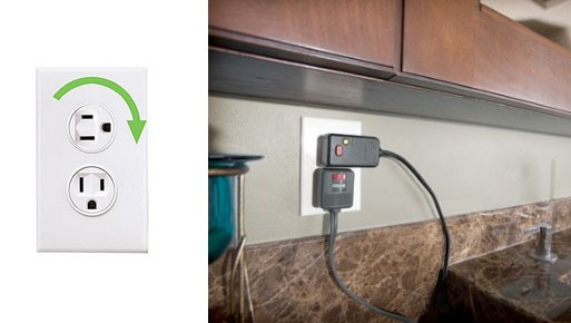 Rotating Electrical Outlet