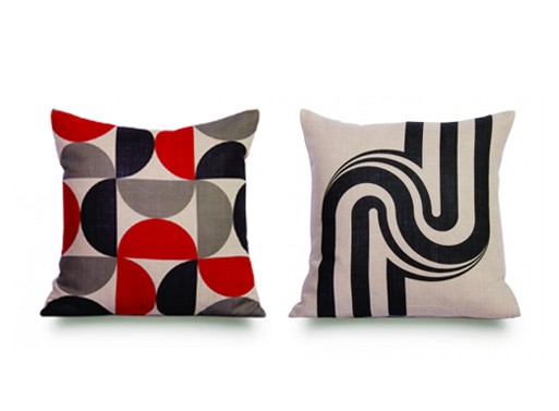 Rouge du Rhin Pillows