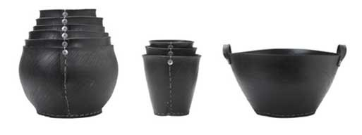 Rubber Tubs, Pots and Tote