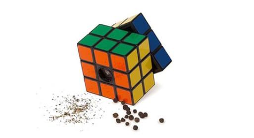 Rubik's Cruet Salt and Pepper Mills
